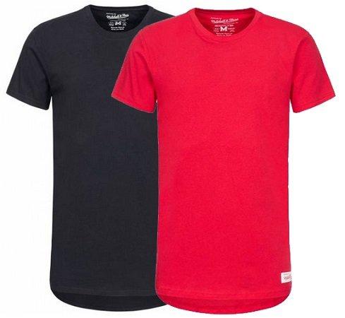 Mitchell & Ness Long Lenght Tailored Herren T-Shirt je nur 6,99€ zzgl. VSK