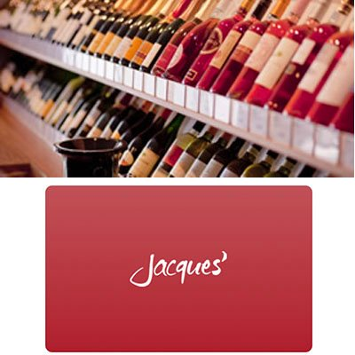 Weinversand: Jacques eGeschenkkarten im Wert von 50€ für nur 42€