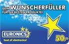 50€ Euronics Geschenk-Gutschein für 45€