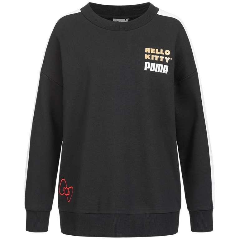 PUMA x HELLO KITTY Damen Sweatshirt für 23,94€ (statt 60€)