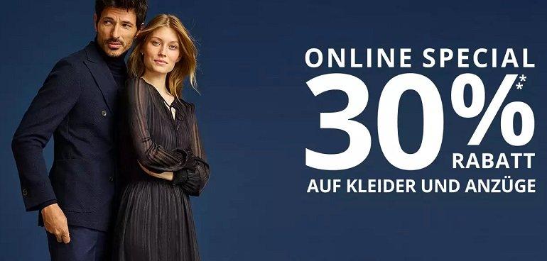 Peek & Cloppenburg 30% Rabatt auf Mäntel 2