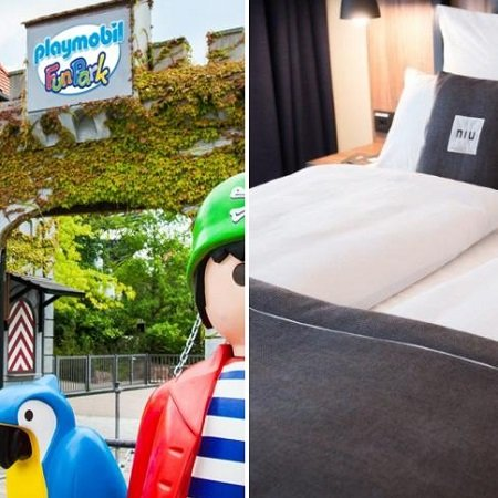 Ticket für den Playmobil FunPark in Zirndorf + ÜN im niu Saddle Hotel ab 55€ p.P