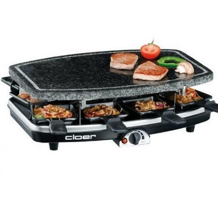 Cloer 6430 Raclette-Grill (1100 Watt, Naturstein) für 29,90€ inkl. VSK (VG: 39€)
