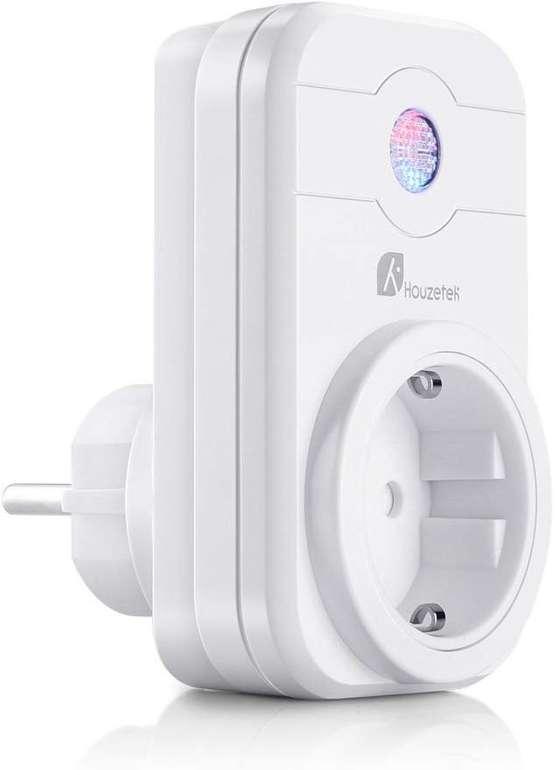 Houzetek WiFi Smart Steckdose (Alexa/Google Home kompatibel) für 4,99€ inkl. VSK