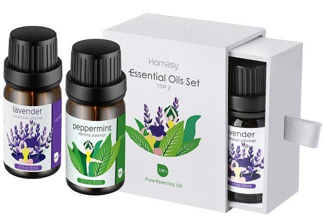 VicTsing Ätherische Öle Geschenkset - Lavendel&Pfefferminze für 6,99€ inkl. VS