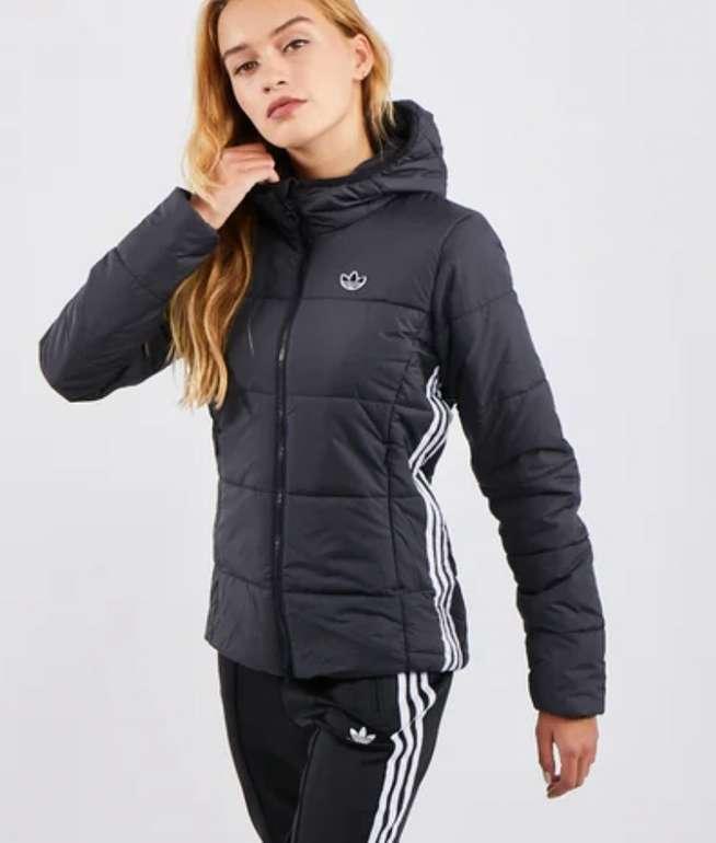 adidas Originals Damen Slim Jacke in Schwarz für 49,99€inkl. Versand (statt 60€)