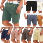 Brave Soul Herren Chino Shorts mit Gürtel für je 17,90€ inkl. Versand