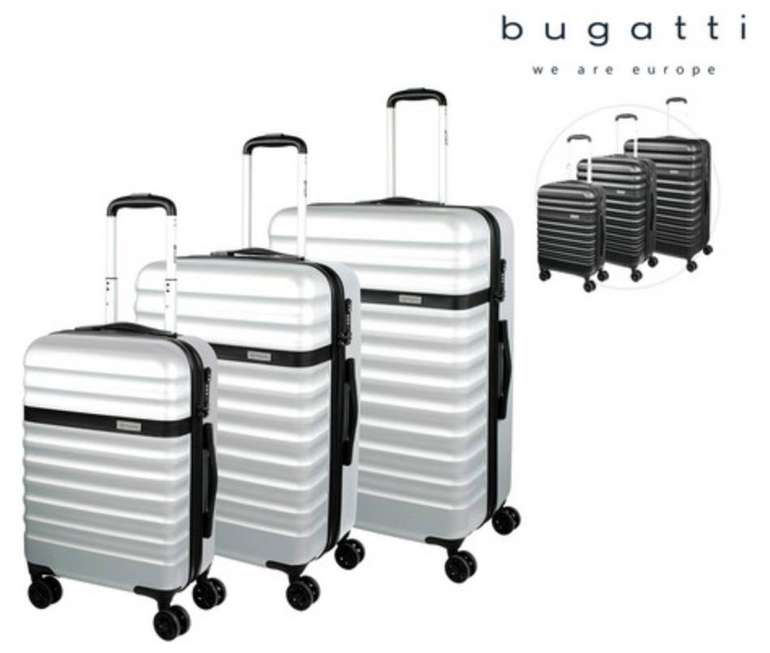 3-tlg. Bugatti Corium Kofferset mit TSA-Schloss für 158,90€ (statt 210€)