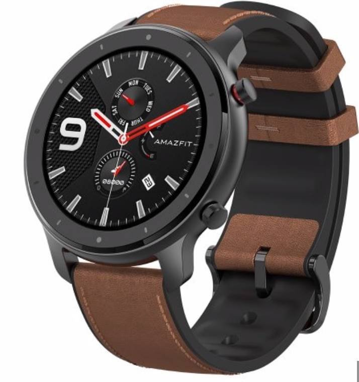 Amazfit GTR Smartwatch (47mm, International Version) für 134,99€ inkl. Versand