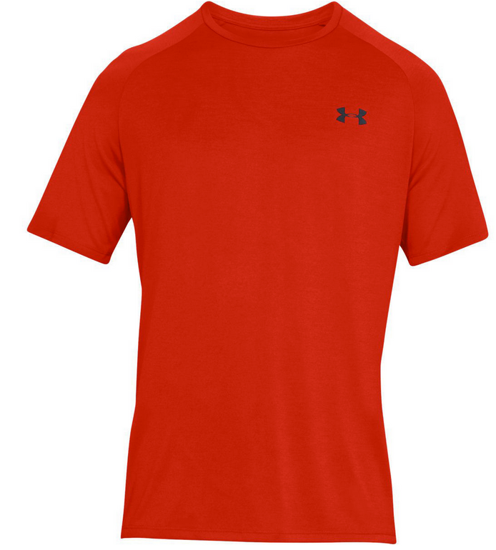 Under Armour Shirt Tech SS Tee Rot & Türkis für 11,77€ inkl. VSK (statt 17€)