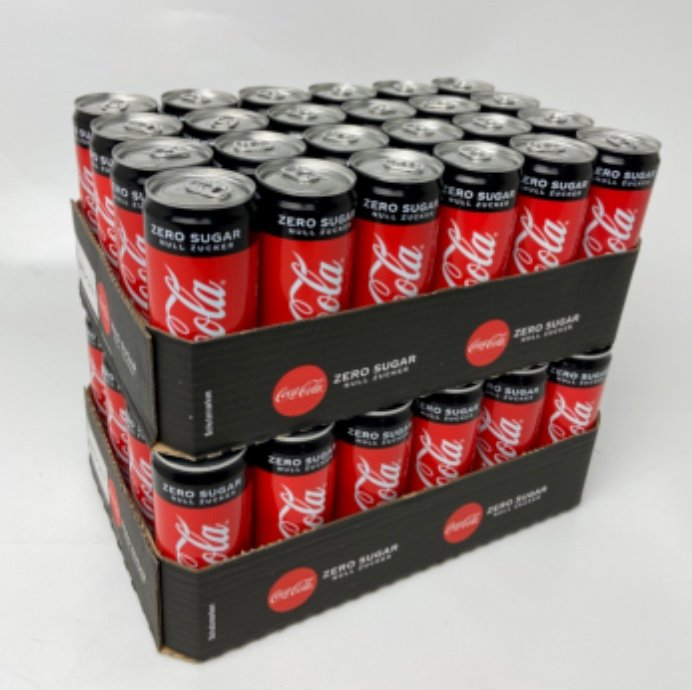 2 Trays Coca Cola Zero zuckerfrei (48 x 0,33 Liter) für 23,99€ inkl. Pfand - MHD 30.06.2021!