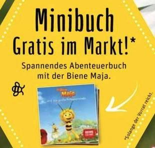 Ab 20.05.: Gratis Abenteuerbuch mit der Biene Maja und Blühsamen zum Selbersäen