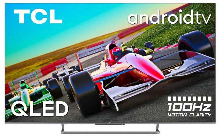 TCL 55C729 TV Gerät mit 55 Zoll (Ultra HD 4K, QLED, Android TV) für 666€ inkl. Versand (statt 749€)