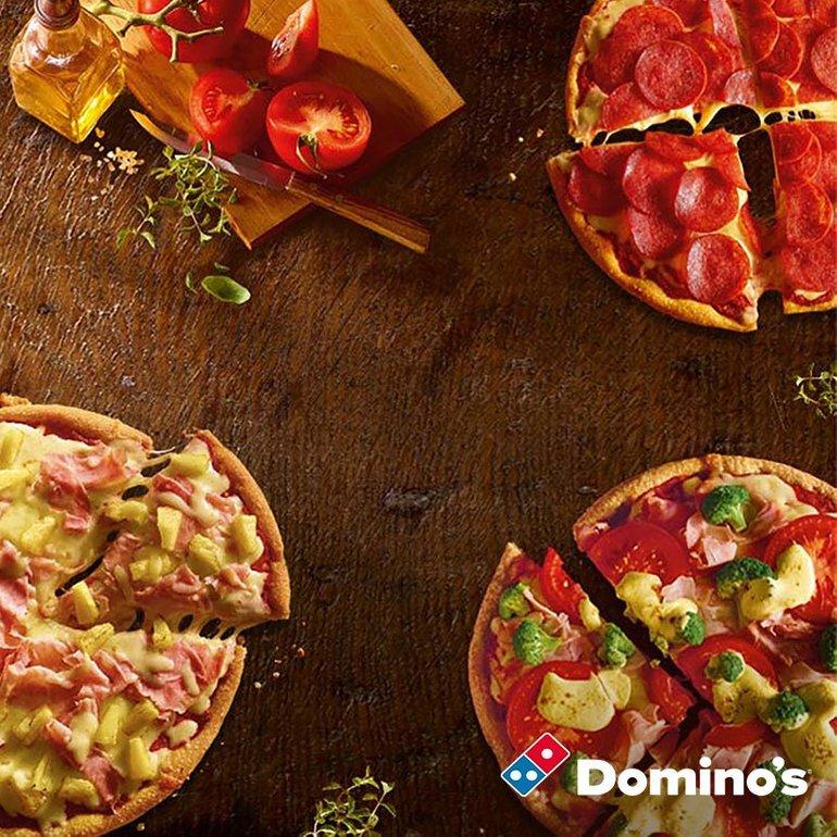 Eine gratis Pizza bei Domino's für alle Telekom-Kunden