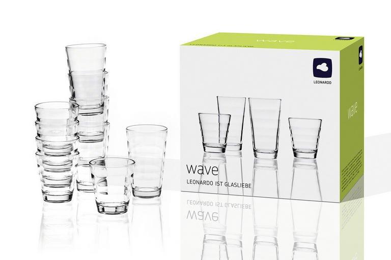3x Leonardo Gläserset Wave 12-teilig für 24,50€ inkl. Versand (statt 28€)