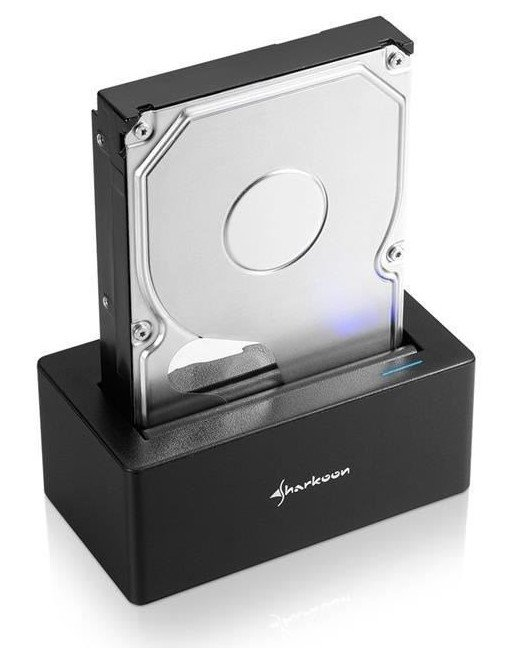 "Sharkoon Dockingstation ""QuickPort USB 3.1 Type C"" für 27,99€ (statt 47€)"