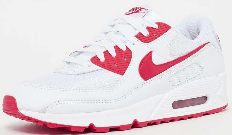 Nike Air Max 90 Herren Sneaker in Rot-Weiß für 79,99€ inkl. Versand (statt 90€)