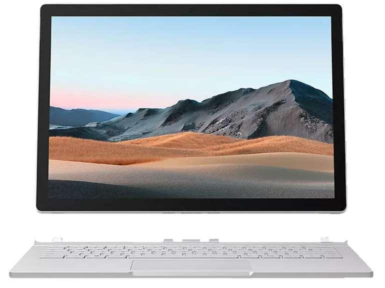Microsoft Surface Book 3, Convertible mit 13,5 Zoll (i5 Prozessor, 8 GB RAM, 256 GB SSD) für 1.299€inkl. Versand