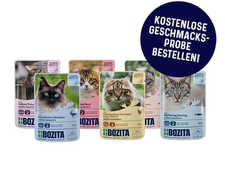 Bozita Katzen Nassfutter Probe (85 Gramm) kostenlos bestellen