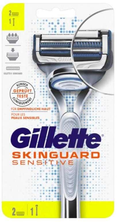 Gillette Skinguard Sensitive Rasierer kostenlos erhalten (Geld-Zurück-Aktion)