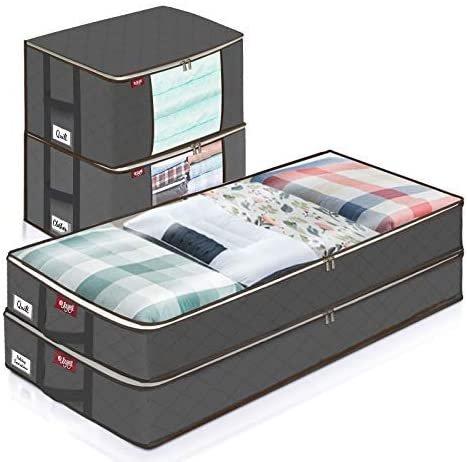 Joyxeon 4er Pack Aufbewahrungstaschen (2 Größen, faltbar) für 11,80€ inkl. Prime Versand (statt 17€)