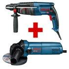 Bosch Professional Bohrhammer GBH 2-26 DRE + Winkelschleifer GWS 660 für 142,48€