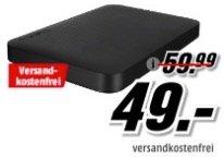 Tiefpreisspätschicht mit Speicher - z.B. Toshiba Canvio Ready 1TB nur 49€