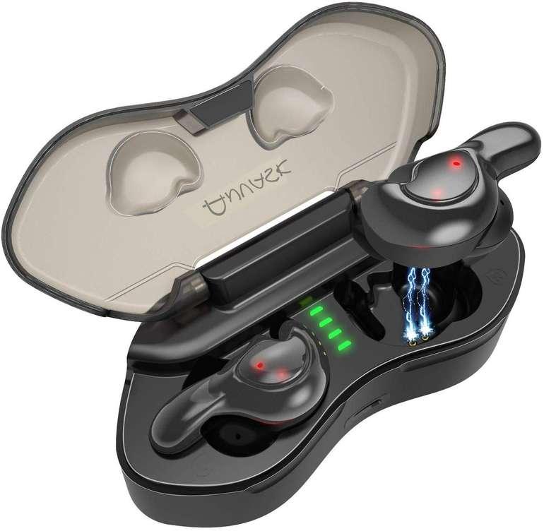 Anvask wasserdichte Bluetooth In-Ear-Kopfhörer mit Ladebox für 23,99€ (Prime)