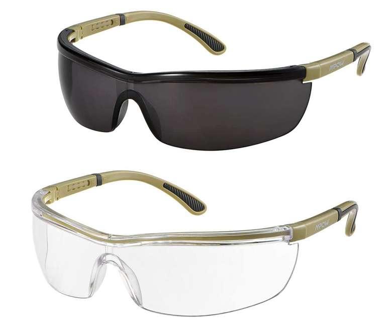 Mpow Schutzbrille mit klaren und getönten Gläsern für 6,99€inkl. Prime Versand (statt 12€)