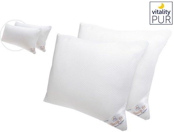 Doppelpack Vitality Pur Memory Foam Kopfkissen 40 x 80cm / 50 x 60cm für 33,90€