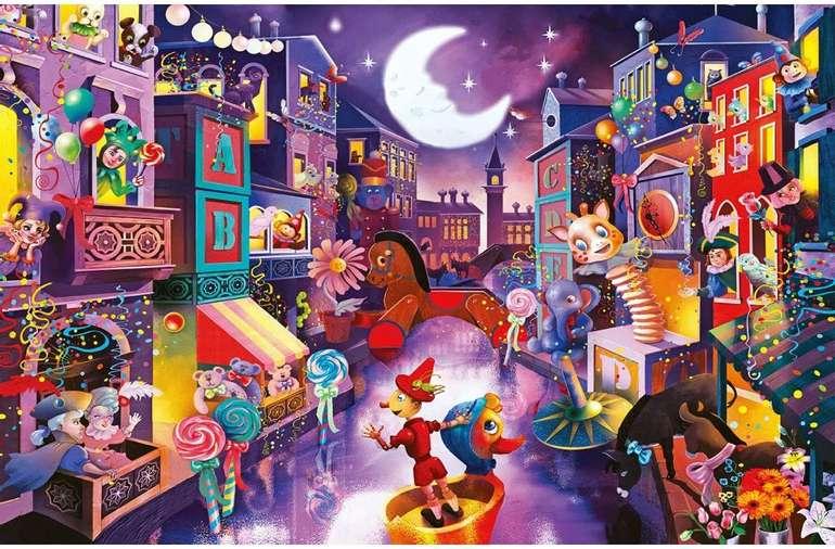 """Glime Puzzle """"Marionettenstadt"""" (1000 Teile) für 10,49€ inkl. Prime Versand (statt 15€)"""