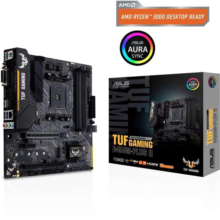 Asus TUF Gaming B450M-Plus II Mainboard für 70,94€ inkl. Versand (statt 89€)