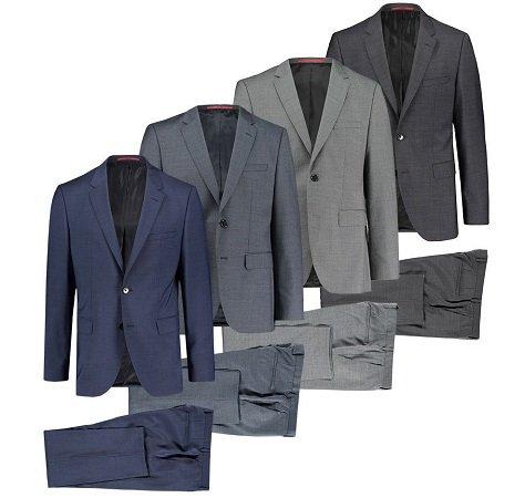 "Hugo Boss Herren Anzug ""Jeffrey182/Simmons182"" für 249,90€ inkl. VSK"