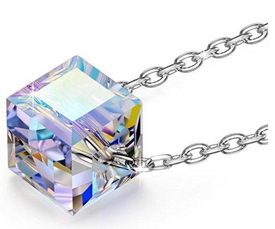 """Alex Perry - 925 Sterling Silber Damen Halskette """"Aufgehende Sonne"""" für 7,99€"""