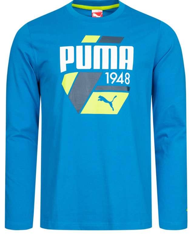 Puma Fun S. Casual Logo Herren Langarm Shirt für 13,99€ inkl. Versand (statt 25€)