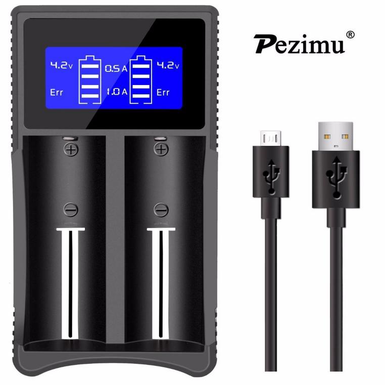 Pezimu New SW-3 Ladegerät für diverse Akkus nur 5,99€ inkl. Prime