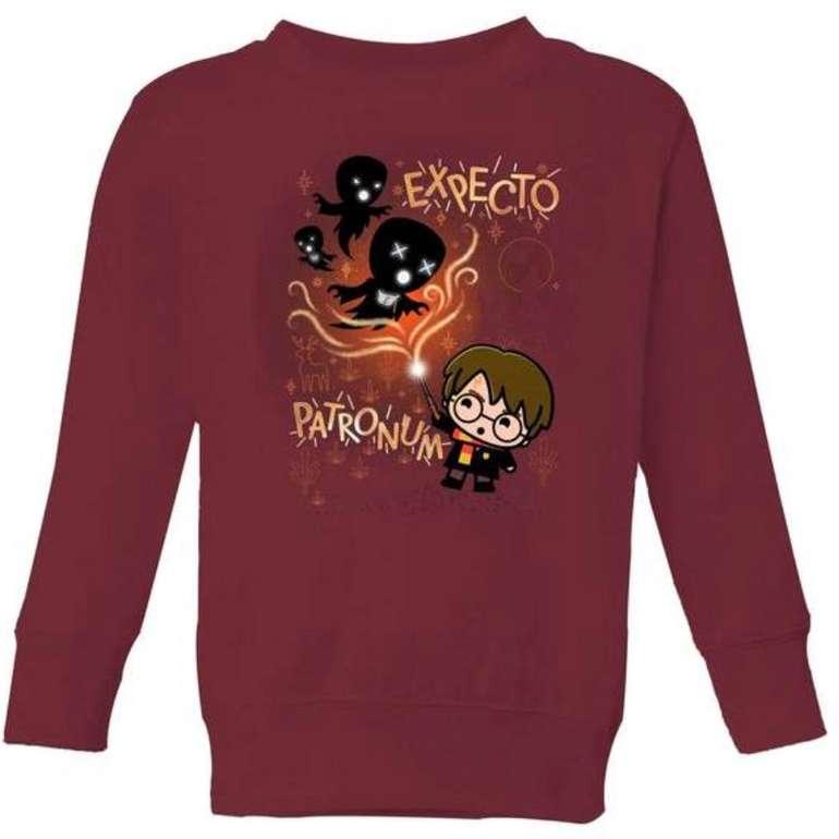 Zavvi: Bundle aus Harry Potter Kinder T-Shirt und Sweatshirt für 19,98€ inkl. Versand (statt 32€)