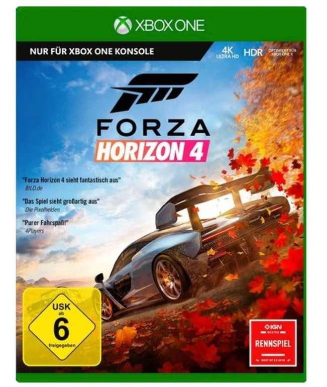 Forza Horizon 4 (Xbox One) für 25,94€ inkl. Versand (statt 48€)