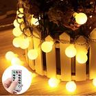 Minger 4M LED Globus Lichterkette mit 40 LEDs für 4,99€ inkl. Prime (statt 10€)