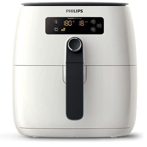 Philips HD9640 Avance TurboStar Airfryer Heißluftfritteuse für 89,99€