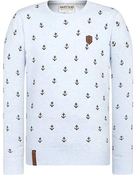 Naketano Pullover in weiß für 21,17€ inkl. Versand (statt 28€)