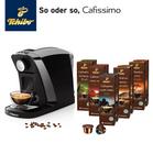 Tchibo Cafissimo Saeco Tuttocaffè Kapselmaschine + 60 Kapseln für 49,95€