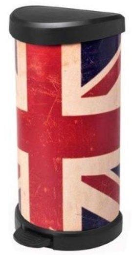Curver Union Jack 40 Liter Abfalleimer für 27,42€ (statt 35€)