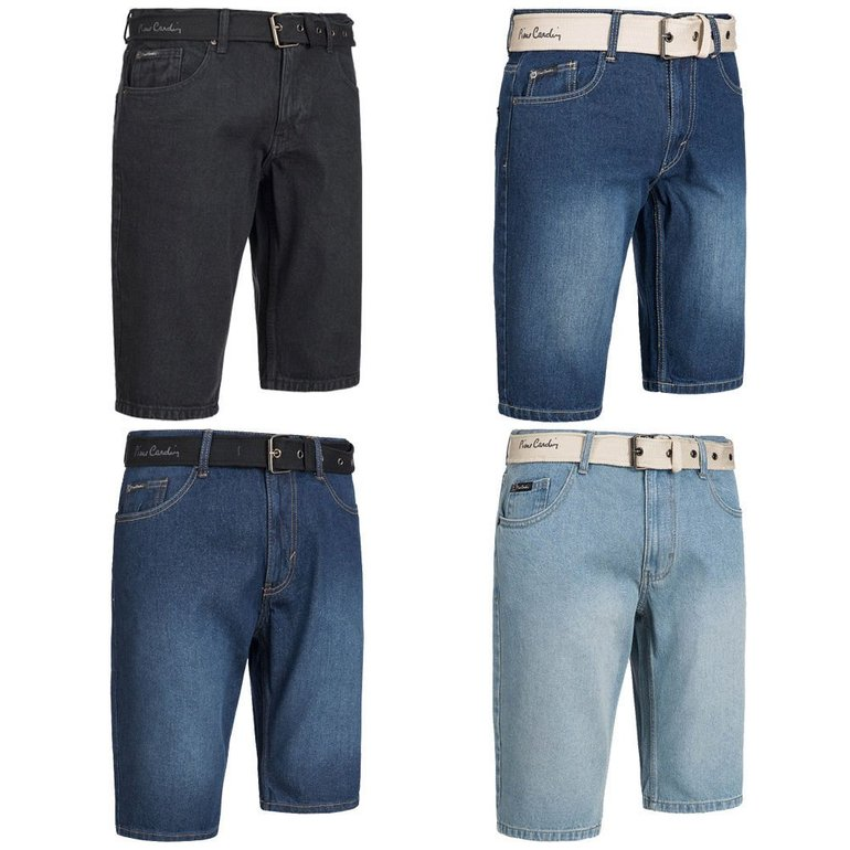 Pierre Cardin Herren Jeans Shorts + Gürtel für je 25,99€ inkl. Versand