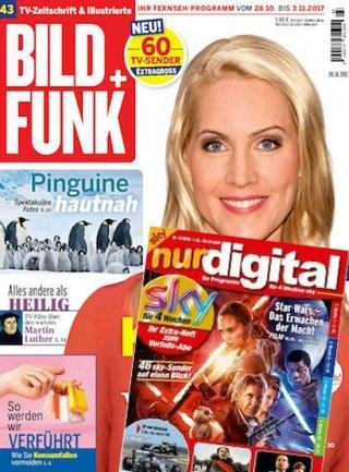 """Jahresabo der Zeitschrift """"Bild + Funk"""" (inkl. Digital Extra) für 127,50€ + 110€ BestChoice-Gutschein"""