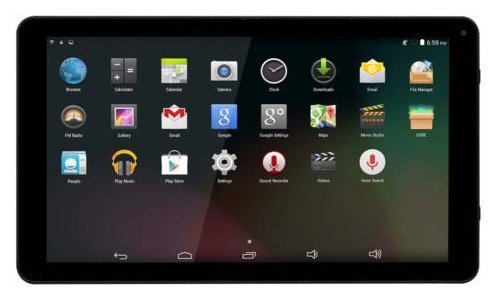 Denver TAQ-10242 – 10 Zoll Tablet mit 8GB Speicher für 54,99€ (statt 99€)