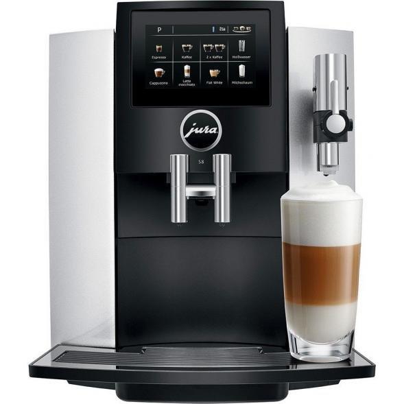 Jura S8 Moonlight Silver Kaffeevollautomat für 999€ (Ausstellungsware)