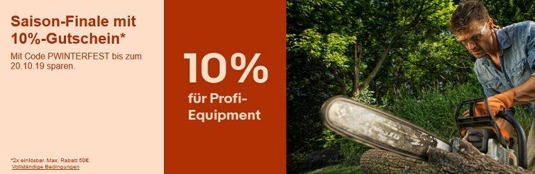 eBay 10% Rabatt auf Garten & Terrasse