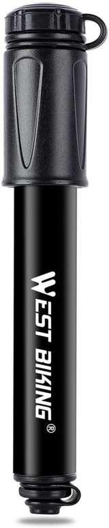 Lebexy Mini Fahrradpumpe für 4,99€ inkl. Prime Versand (statt 7€)