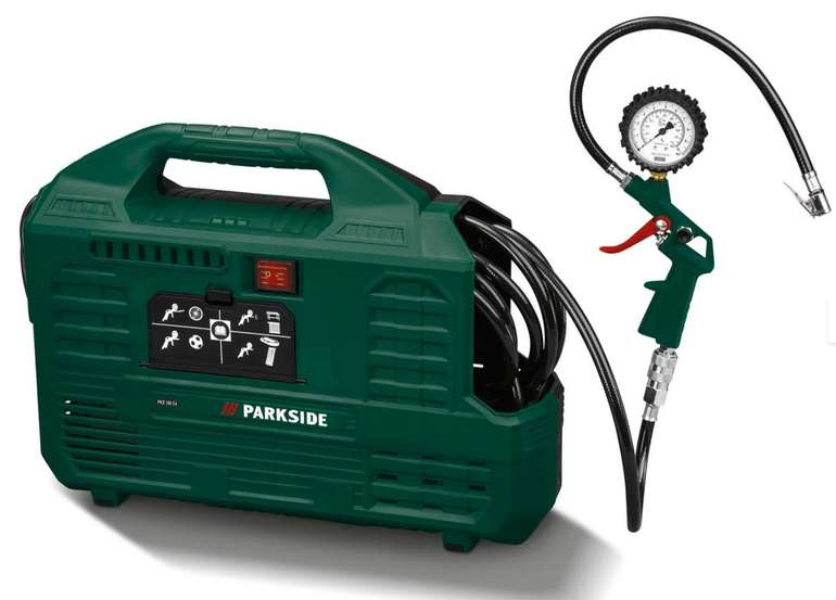"Parkside Kompressor ""PKZ 180 C5"" für 39,99€ inkl. Versand (statt 45€)"